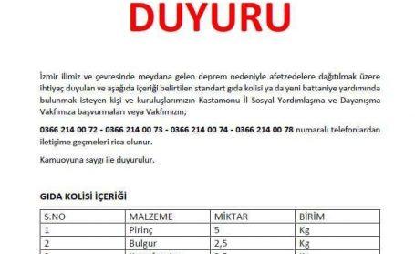 Yüreğimiz ve desteklerimiz sizinle İzmir..